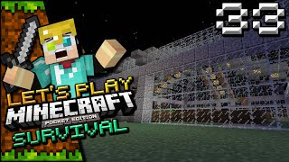 Minecraft POCKET EDITION Let's Play Survival Ep 33: SHEEP STUFF!