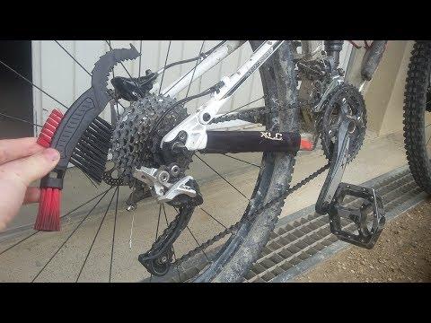 Nettoyage transmission vélo/VTT/cassette/chaîne