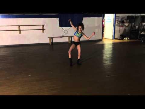 Jennilee Paez - Age 12 - Contemporary class with Nikki (видео)