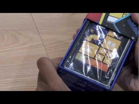 Video trên tay chiếc điện thoại nokia Lumia 520