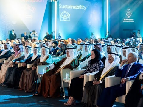 On behalf of HM the King, HRH the Crown Prince inaugurates the 18th Arab Businessmen and Investors Conference