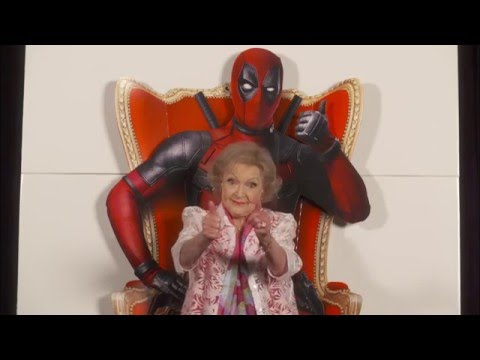 BETTY WHITE: Endorses Deadpool...Best Review Ever.