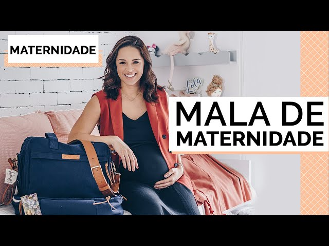 O QUE LEVAR NA MALA DE MATERNIDADE | MARI FLOR - Closet da Mari
