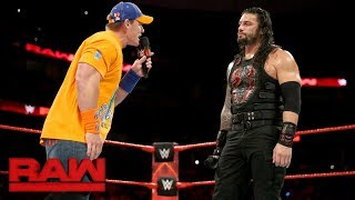 """Nonton John Cena gives Roman Reigns a lesson in """"failure"""": Raw, Sept. 11, 2017 Film Subtitle Indonesia Streaming Movie Download"""