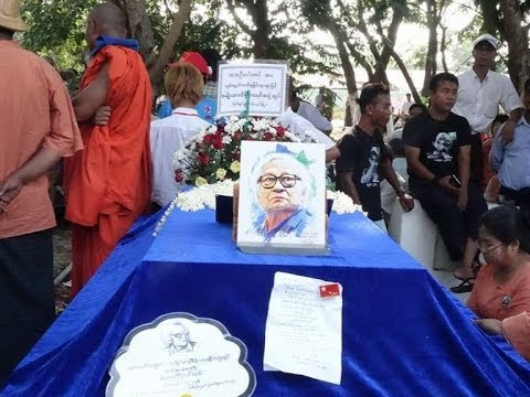 Paying tribute to a Burmese legend