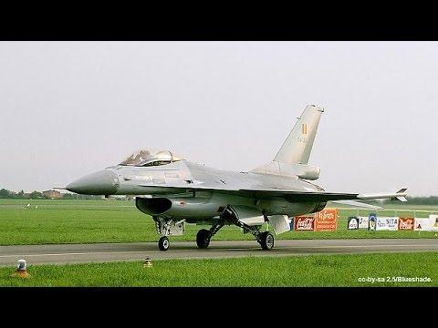 Ιράκ: Και Βελγικά F16 σφυροκοπούν τους τζιχαντιστές