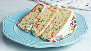 The Ultimate Funfetti Cake by Tasty