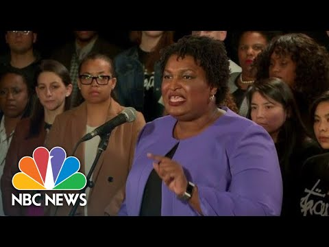Full Speech: Stacey Abrams Ends Candidacy For Georgia Governor   NBC News