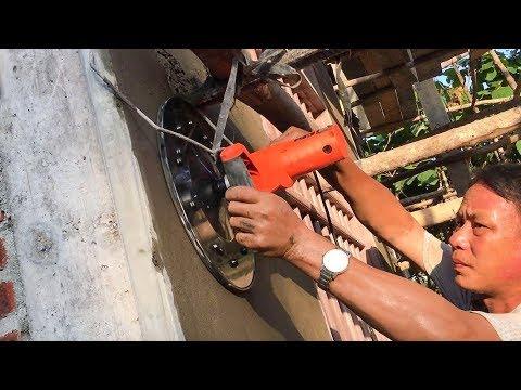Xem bác thợ cả 30 năm trong nghề dùng máy xoa tường đa năng NTN | THIẾT BỊ CÔNG TRÌNH
