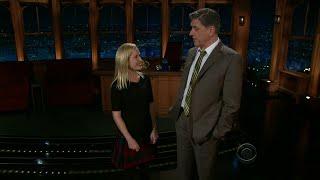 Late Late Show with Craig Ferguson 11/16/2011 Michael Ian Black, Alex Kingston
