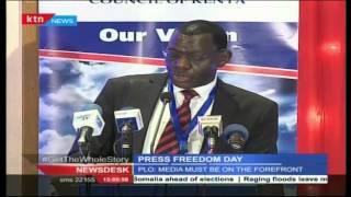 Kenyan Journalist Celebrate World Press Freedom Day