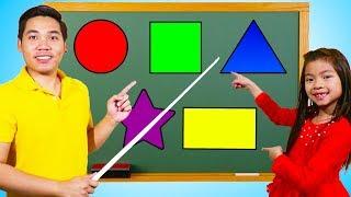 Emma Learning Shapes