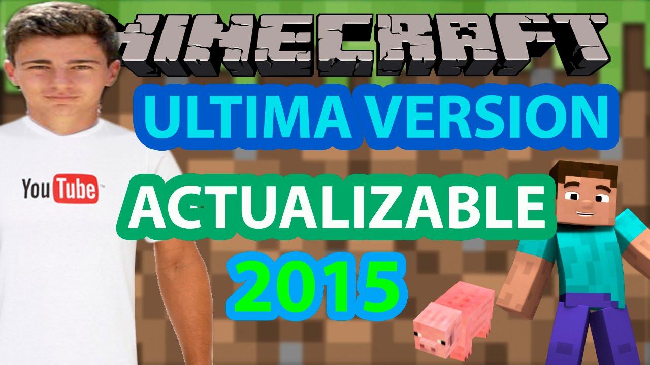 Descargar Minecraft 1.8.7 Ultima Version 2015 | Launcher Actualizable | Gratis y en Español