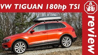 2016 Volkswagen VW Tiguan 2.0 TSI 180hp driving impressions by Video Car Review