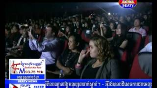 HIRUSCAR FACE OF CAMBODIA FASHION WEEK 2013 SEMI FINAL @ SEA TV