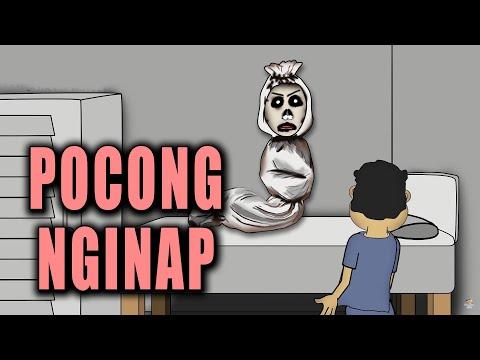 Pocong Nginap | Animasi Horor Kartun Lucu | Warganet Life