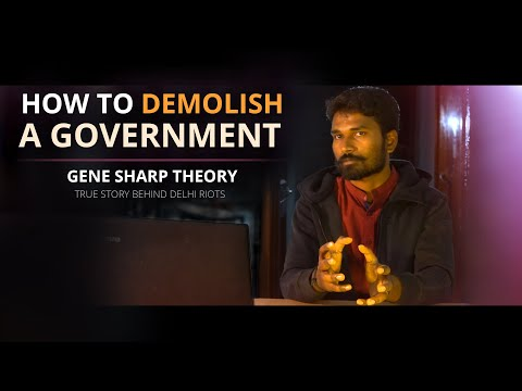 Truth Behind Delhi Riots - EXPOSED | Gene Sharp Theory | Save The Nation #TheString