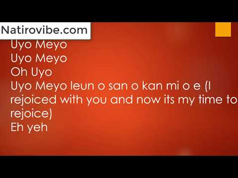 Teni - Uyo Meyo Lyrics & Translation