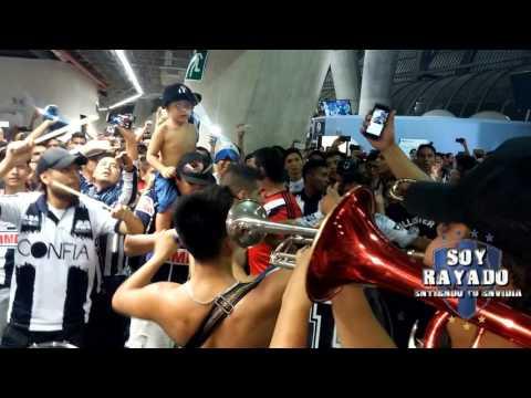 LA ADICCION RAYADA  LA BANDA MUSICAL MONTERREY VS SANTOS JORNADA 10 - La Adicción - Monterrey