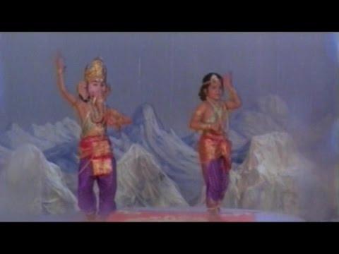 Sree Vinayaka Vijayamu Movie || Lord Vinayaka Learn Dance || Krishnam Raju. Vanisree