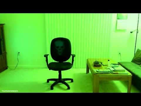 Ghost caught on tape in my apartment, Part 3 – Ghost on a chair!