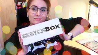 Opening December SKETCHBOX (+Speed Drawing!)