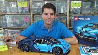 Video Eine 370€ Enttäuschung - LEGO® Technic 42083 - Bugatti Chiron MP3, 3GP, MP4, WEBM, AVI, FLV Juli 2018