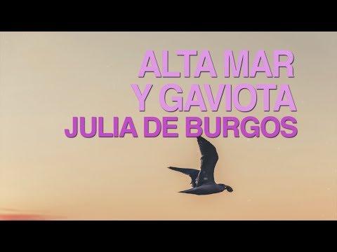 Poemas cortos - Alta mar y gaviota - Julia de Burgos