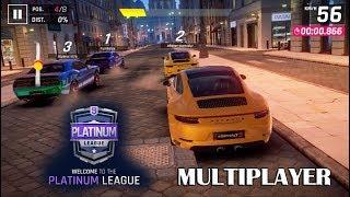 10. Asphalt 9 - Multiplayer with 911 GTS (Platinum League)
