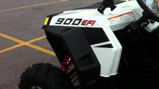 9. 2011 Polaris RZR XP 900 White Lightning LE