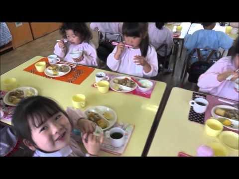 笠間 友部 ともべ幼稚園 子育て情報「年長 給食」