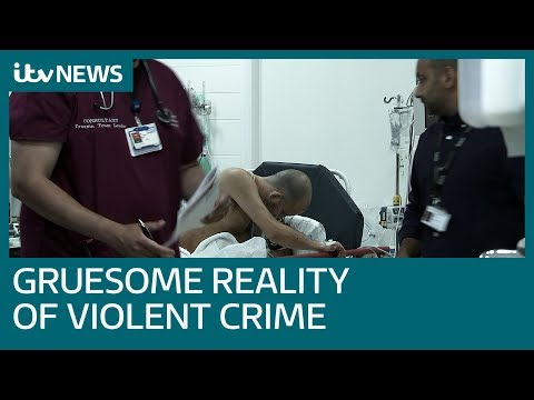 Youngsters Shown Reality Of Violent Crime Plaguing Society | ITV News