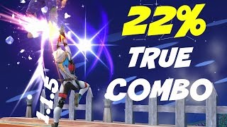 New Sheik True Combo At Low Percents After Patch 1.1.5 – Super Smash Bros 4