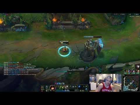 Tyler1 Plays The Banned Nubrac Roaming Teemo Support Strategy