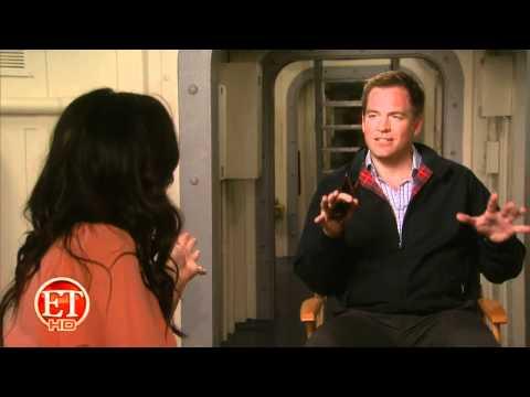 ET Online - Michael Weatherly Predicts Baby Daughter's Job + Cote de Pablo&Mark Harmon