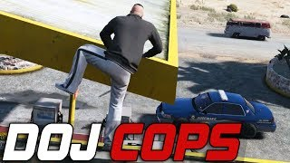 Dept. of Justice Cops #185 - Hardcore Parkour (Criminal)