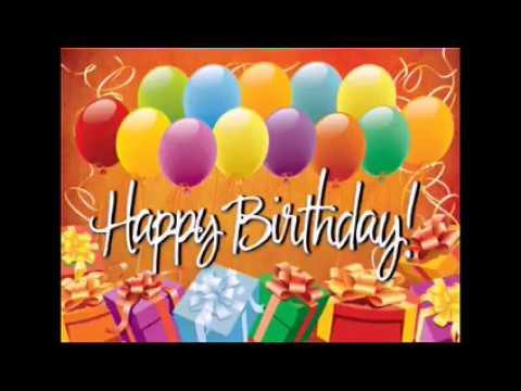 Msg de aniversário - TELEMENSAGEM DE ANIVERSÁRIO PARA FILHO Voz Fem.Linda Mensagem de Aniversário