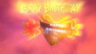 """Beautiful """"Happy Birthday"""" animation to share with your family, friends and loved ones.Music """"It's Your Birthday"""" by Monk Turner + FascinomaAvailable at http://freemusicarchive.org/music/Monk_Turner__Fascinoma/The_New_Birthday_Song_Contest/Its_Your_Birthday_1839http://freemusicarchive.org/music/Monk_Turner__Fascinoma/The_New_Birthday_Song_Contest/Its_Your_Birthday_InstrumentalUnder CC BY license http://creativecommons.org/licenses/by/3.0/"""