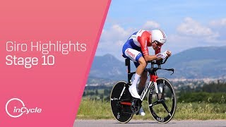 Highlights from stage 10 of the 2017 Giro d'Italia.