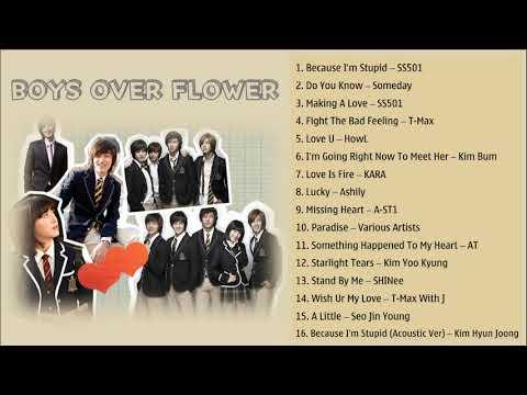 Boys Over Flower OST Full Album Sound Track BOF