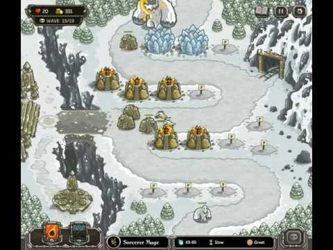 Kingdom Rush - Level 9 (Campaign) - Stormcloud Temple