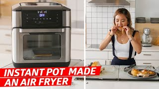 Instant Pot Made an Air Fryer! Is It Any Good? — The Kitchen Gadget Test Show
