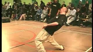 Gator & Original Mat vs Fish de Compo & Stéphane – Juste Debout 2002 Popping final
