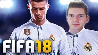 FIFA 18 - A PRIMEIRA PARTIDA (PSG vs REAL MADRID) - DEMO