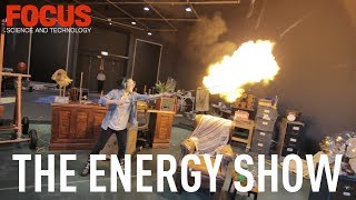 We go behind the scenes at the London Science Museum's explosive new family show to find out what the audience can expect.