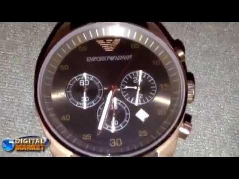 Relógio Estilo  Emporio Armani AR5890 - DigitalMarket