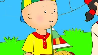 Captain Caillou | Funny Animated cartoons Kids | WATCH ONLINE | Christmas Cartoons for children