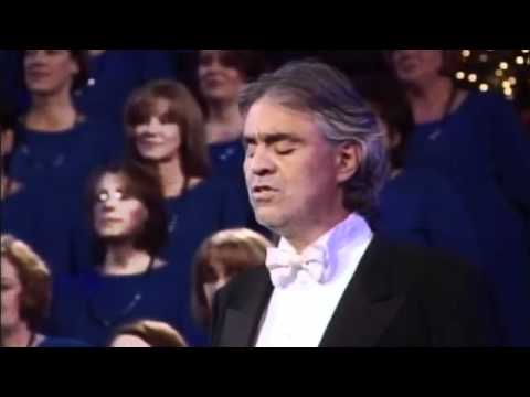 Andrea Bocelli and The Mormon Tabernacle Choir - The Lord Prayer