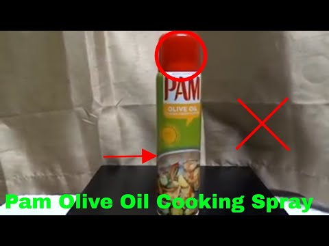 ✅  How To Use Pam Olive Oil Cooking Spray Review