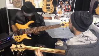 Bass Southwest NAMM 2014 Bill Dickens and Jon Smith